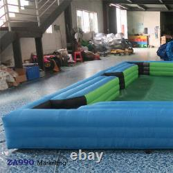 20x13ft Inflatable Snooker Pool Table Billiard Court 16Pcs Balls With Air Blower
