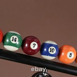 3 Lights Billiard Balls Pool Metal Light Vintage Table Lamp Game Room Chandelier