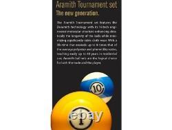 ARAMITH 57.2mm Super Pro Duramith Tournament Pool Table Billiard Game Ball Set