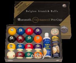 ARAMITH Duramith Play Package Six Dot Cue Ball Pool Billiard Ball Set FREE SHIP