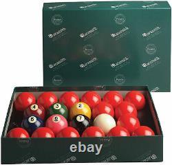 Aramith 2 1/4 American Snooker Pool/Billiard Ball Set