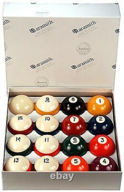 Aramith Billiards Crown Standard Pool Ball Set