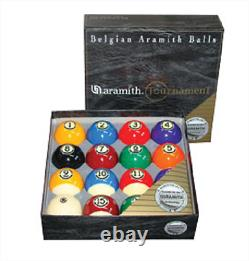Aramith Billiards Tournament Pool Ball Set