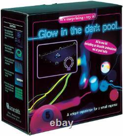 Aramith Glow In The Dark Billiard Pool Ball Set Pool Table Conversion Kit