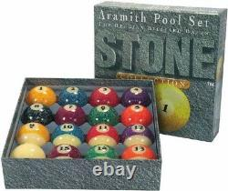 Aramith Granite American Pool Set 2 1/4 (57mm) -Distinctive And Eye-Catching