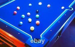 Aramith Neon Glow In The Dark Billiard Pool Ball Set FREE SHIPPING