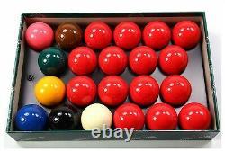 Aramith Premier 2 1/4 Inch 57.2mm 22 Balls American Pool Size Snooker Ball Set