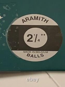 Aramith Premier Pool Ball Set 2 1/4 Reg Size Brand New Ships Free N Free Tips