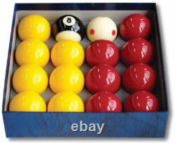 Aramith Pro Cup Red & Yellow 2-Inch Ball Set -Tournament Quality Ball Set SALE