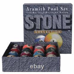 Aramith Stone Pool Ball Set. Free Priority Us Shipping