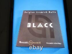 Aramith Tournament BLACK Ball Set Belgian Duramith Pool Balls Billiards