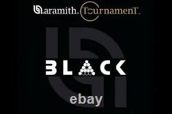 Aramith Tournament BLACK TV pool ball set with Duramith Technology