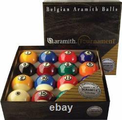 Aramith Tournament Duramith American Pool Ball Set 2 1/4 (57mm)