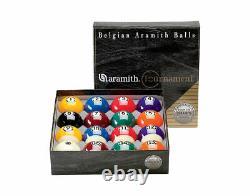 Aramith Tournament Pool Balls Set DURAMITH Technology Fast Ship & Free Gift