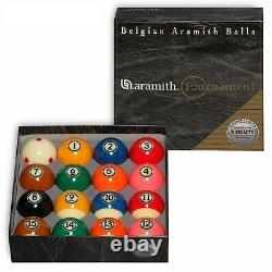 Aramith Tournament Pro-Cup TV Billiard Pool Ball set 2 1/4