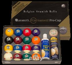 Aramith Tournament Value Pack Pool Ball BRAND NEW Free Shipping CANADA & USA