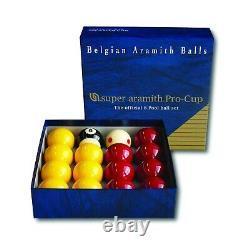 Aramith snooker and pool balls premier pro cup tournament championship 1G ball