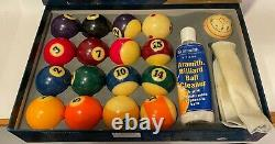 Belgian Aramith Pro Cup Pool Balls billiard set plus Brunswick Ball Rack + more