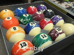 Billiard Ball Set Milky Way Space BALLS FINEST POOL BALLS VIGMA NEW