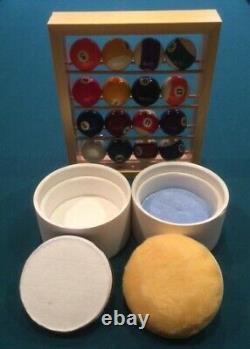 Billiard / Pool Ball Cleaner / Polisher & Buffer & Rack