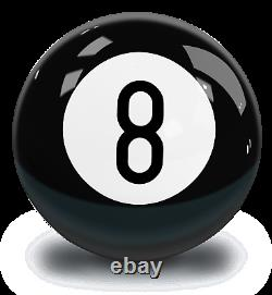 Billiards (Pool) Black Eight Ball Polyester Bowling Ball 8-Ball