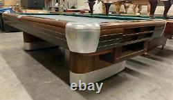 Brunswick Anniversary 9 foot pool table with ball return