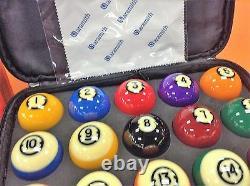 Brunswick Centennial Balls With Aramith Carrying Case