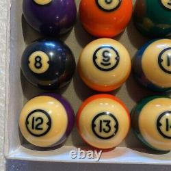 Brunswick Centennial Gold Crown Pocket Balls Pool table Billiards Master CHALK