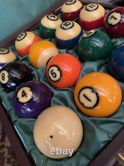 Centennial Pool Balls In Travel Case