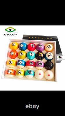 Cyclop Hyperion Pool Ball Set
