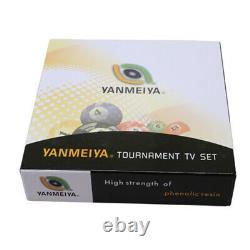 Cyclops Professional Tournament Pool / Billiard TV Ball 2-1/4 Set