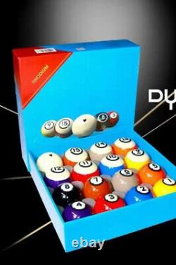 DYNASPHERE Next Gen Phenolic Resin Billiard Pool Ball Set 2-1/4-Gold Award