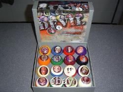 Devil Billiard Pro Pool Ball Set Ball Size 2 1/4 Rare Find Last On Market