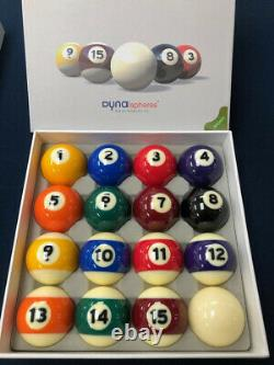 Dynasphere Bronze 2-1/4 in. Belgian Billiards Pool Balls FREE PRIORITY SHIPPING