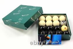 EXCLUSIVE! Aramith SILVER 8 BALL Edition BLACK & WHITE Pool Balls PRO CUP Cue