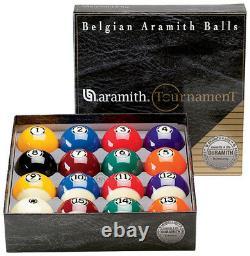 Genuine Belgian Super Aramith Pro Tournament Pool/Billiard Ball Set (Phenolic)