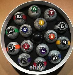 McDermott Galaxy Series Balls Pool Billiards Ball Set with Free Shipping