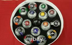 McDermott Galaxy Series Pool Ball Set 2 1/4 Regulation Size & Weight-FREE SHIP