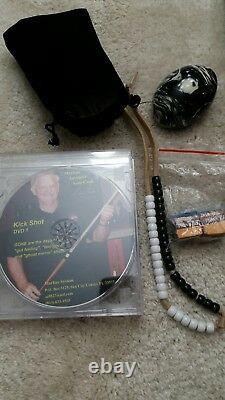 McDermott MARKUE KIT with Pool Cue, Hard Case, Chalk, Bobble Ball & DVD's