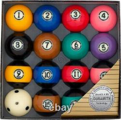 NEW Aramith Tournament Black TV Pool Balls Set