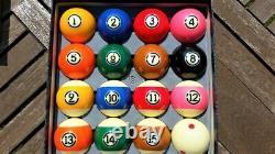 New Aramith Tournament Pro Cup TV Pool Ball Set + FREE SHIPPING
