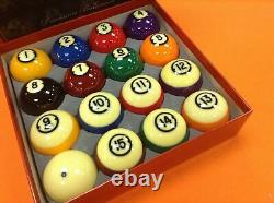 New Authentic Brunswick Centennial Billiard Pocket Pool Balls Set