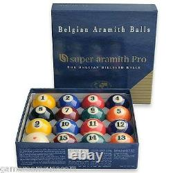 New Belgian SUPER ARAMITH PRO Pool Balls