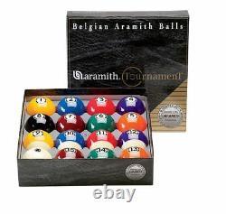 New Belgian SUPER ARAMITH Tournament Set Pool Balls Set BRAND NEW Billiard ARTS