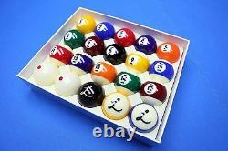 New CYCLOP Ladon Billiard Pool TV Pro Ball set (20 balls)