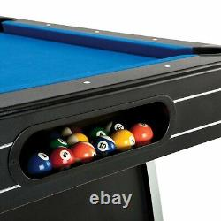 New Indoor/Outdoor Fat Cat Tucson 7 Pool Table Game with Automatic Ball Return