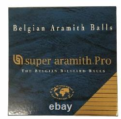 New Super Aramith Pro Pool Balls Belgian Free Shipping