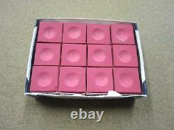 Pink Pool Cue 1x1 Case Chalk & 8 Ball Chalker Package with Free Shipping