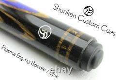 Pool cue butt fullsplice custom black hornbeam bocote bigwig 8ball billiards cue