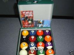 Pro Snooker Eight Ball Billiard Pool Ball Set 2 1/8